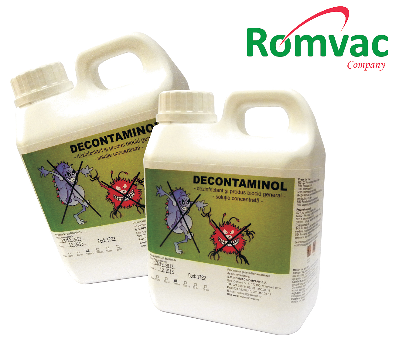 Decontaminol Romvac
