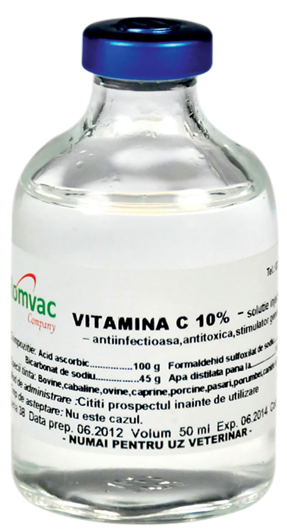 romvac vitamina c flacon 50ml